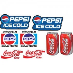 Cold Drink Catering Stickers