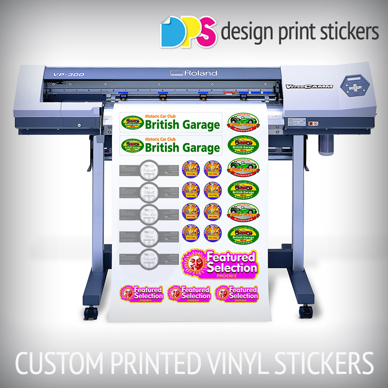 Custom Printed Vinyl Stickers Design Print Stickers - Custom printed vinyl stickers